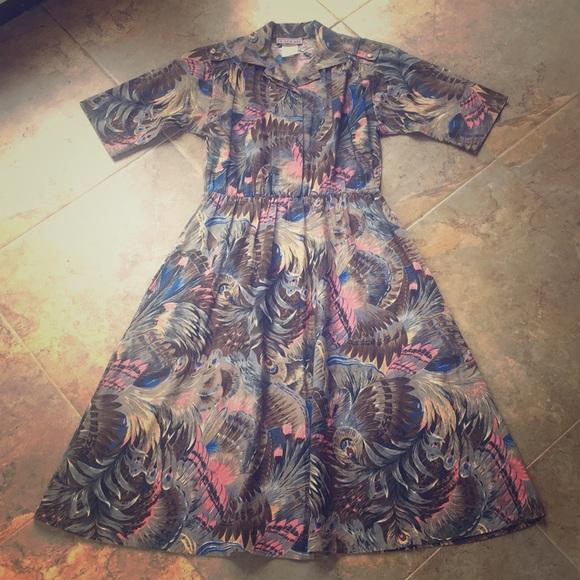 Cabrais Dresses & Skirts - Vintage 80s Cabrais Dress